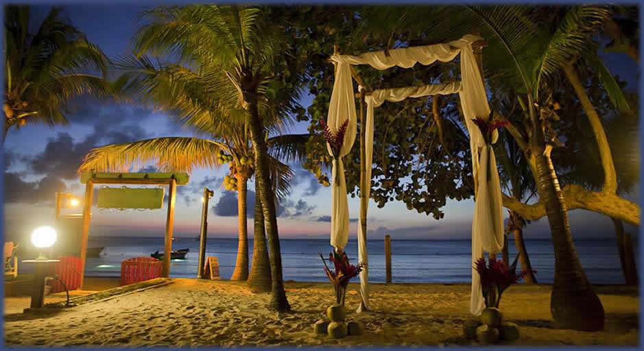 Roatan Wedding Island Pearl Resort